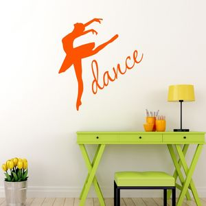 Dance Ballet Wall Sticker