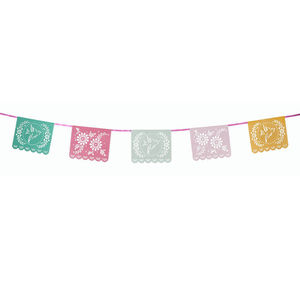 Fiesta Mexicana Bunting - day of the dead