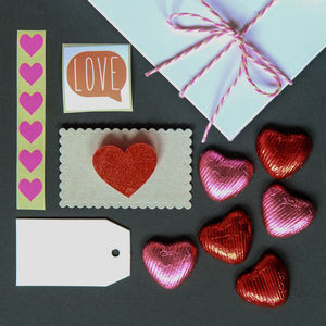 Valentines Box Of Joy Jewellery And Chocolates Gift Kit