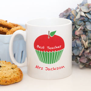 Personalised 'Thank You Teacher' Mug - last-minute gifts for teachers