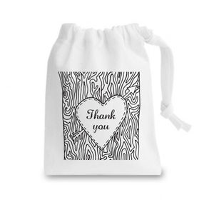Personalised Woodland Wedding Favour Bag