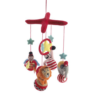 Circus Themed Children'S Mobile - decorative accessories