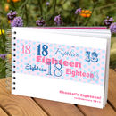 Personalised 18th Birthday Guest Book