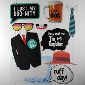 Photo Booth Dog Selfie Props - clothes & accessories