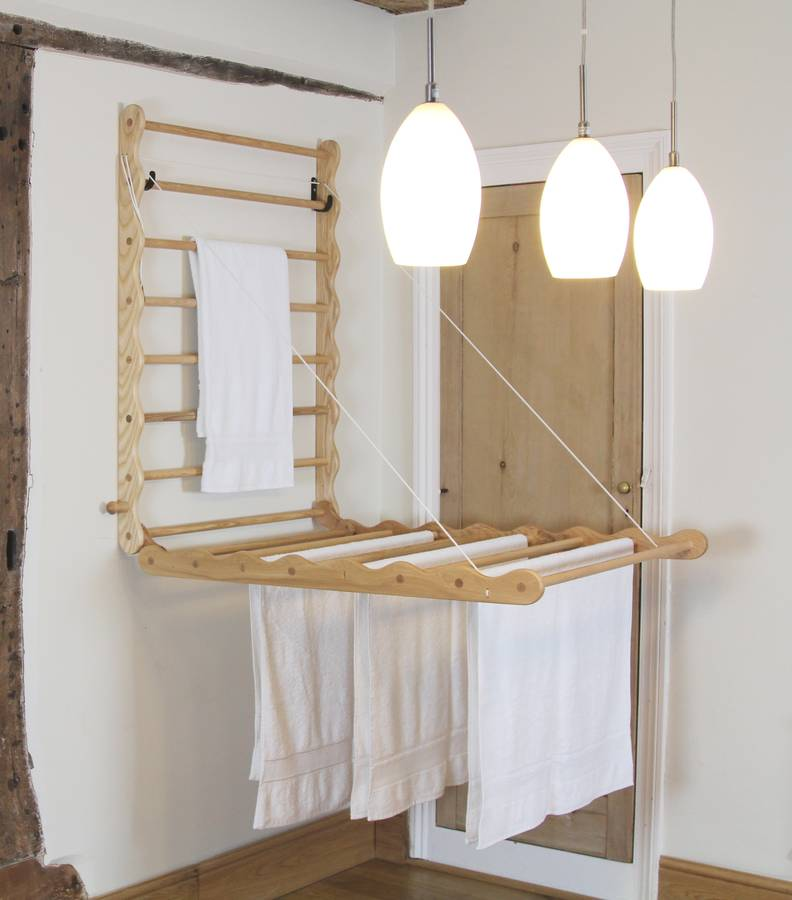 Laundry Ladder In Ash By Julu Notonthehighstreet Com