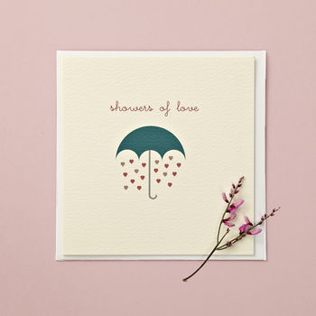 'Showers Of Love' Card