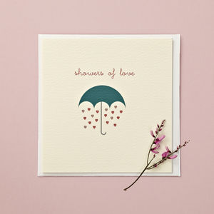 'Showers Of Love' Card - weddings sale