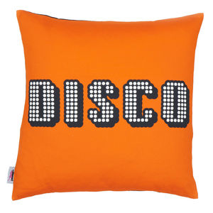 Decades Of Sound 'Disco' Cushion Cover - patterned cushions