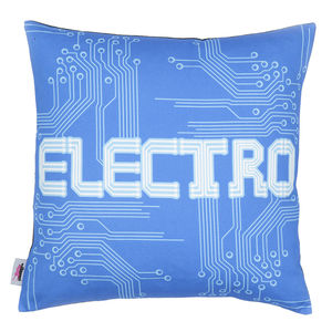 Decades Of Sound 'Electro' Cushion Cover - patterned cushions