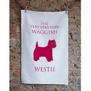 Westie Tea Towel