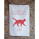 Cat Tea Towel