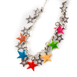 Star Enamel Necklace - necklaces & pendants