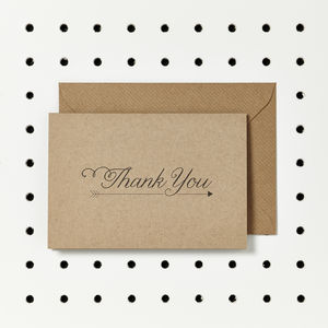 Woodland 'Thank You' Cards
