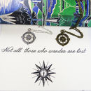 'Not All Who Wander' Compass Necklace