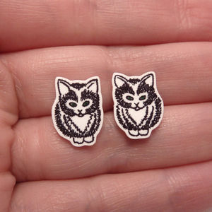 Little Kittens Stud Earrings