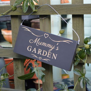 Engraved Decorative Sign For Mum Or Mummy