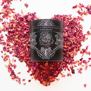 Delicate Romance Naturally Fragrant Candle - massage & aromatherapy