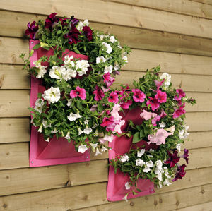 Set Of Two Vertical Garden Planters