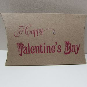 Valentines Day Pillow Gift Box