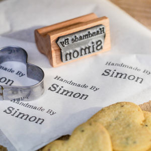 Handmade By Stamp - gifts for book-lovers