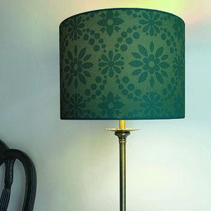Daisy Silhouette Lampshade - lighting