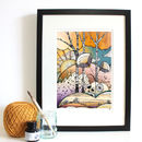 Autumn Woodland Fine Art Giclée Print