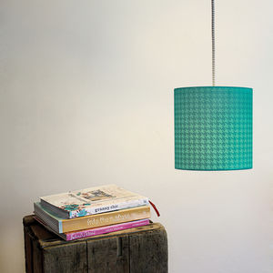 Dogtooth Silhouette Lampshade