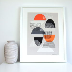 Simple Shapes No3 Giclee Print - modern & abstract