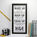Cycling Motivational Personalised Print