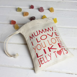 Personalised 'I Love You Lots' Mothers Day Sweets - under £25