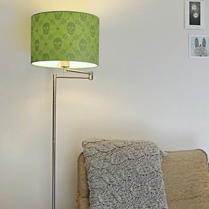 Skully Siilhouette Lampshade - lamp bases & shades