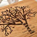 Personalised Family Tree Christening Box
