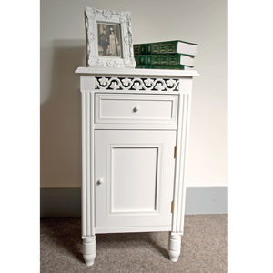 Traditional Bedside Cabinet - bedside tables