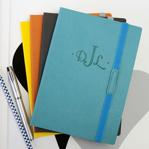Personalised Monogram Notebook - notebooks