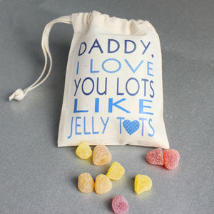 Personalised 'I Love You Lots' Father's Day Sweets