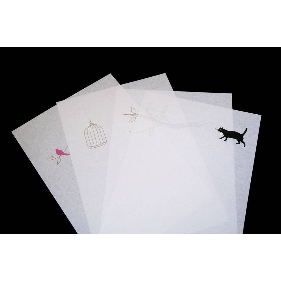 set of eight storyselling writing paper and envelope by toothpic nations
