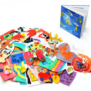 Bespoke Children's Artwork Book - gifts for fathers