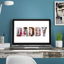 Printable Personalised Photograph Daddy Image