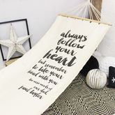 Personalised 'Wise Words' Hammock - garden