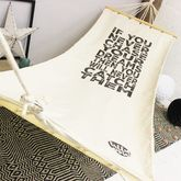 Personalised Quote Hammock - garden