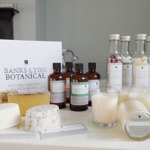 Pick'n'mix Handmade Organic Bath And Skincare Set