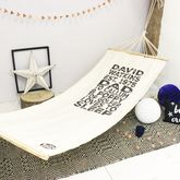 Personalised Dad Hammock - garden