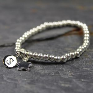 Personalised Child's Star Bracelet