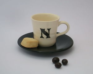 Personalised Espresso Cup And Saucer - cups & saucers