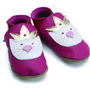 Thumb starchild baby shoes in kitty pink
