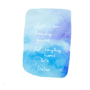 Everything Happens For A Reason Card - retirement cards