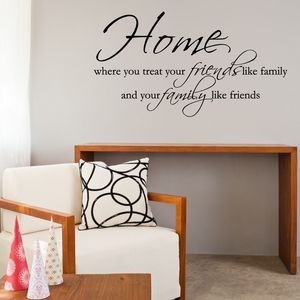 Home Quote Wall Sticker - wall stickers