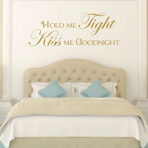 Hold Me Tight Quote Wall Sticker - wall stickers