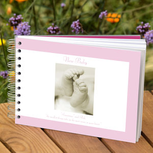Baby Photo Album - keepsakes