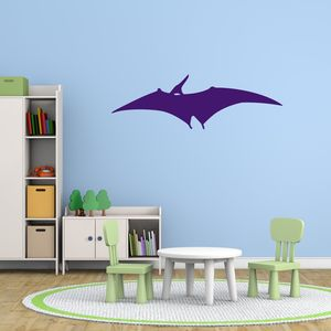 Pterodactyl Dinosaur Vinyl Wall Sticker - wall stickers